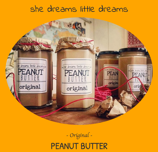 She Dreams Little Dreams Peanut Butter