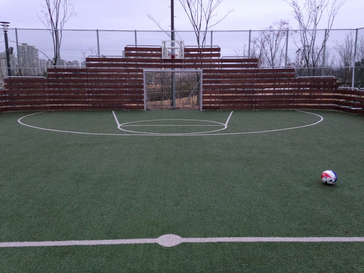 Futsal at Unjeong Health Park